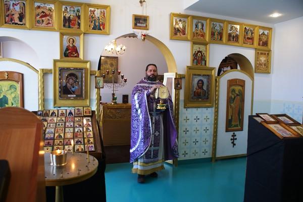 В ИК-5 УФСИН России по Самарской области отслужили миссионерскую литургию