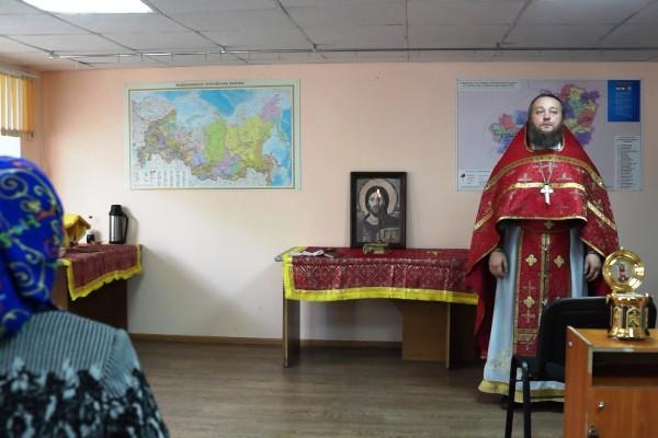 В колонии-поселении № 1 УФСИН России по Самарской области проведена божественная литургия