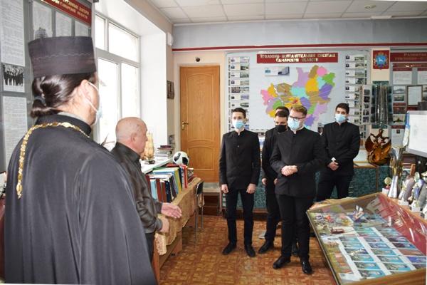 Студенты Самарской духовной семинарии посетили ИК-5 УФСИН региона
