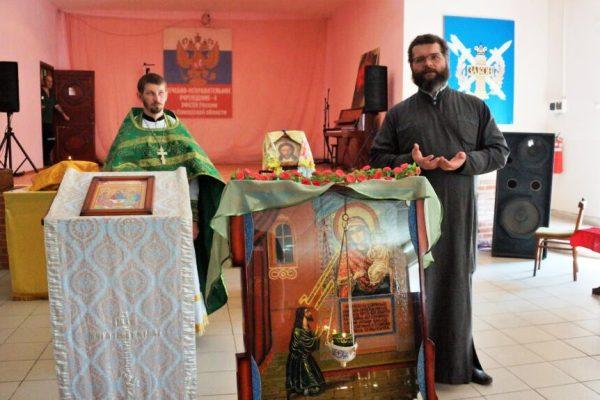 В ЛИУ-4 и СИЗО-1 УФСИН России по Самарской области совершилась первая миссионерская литургия
