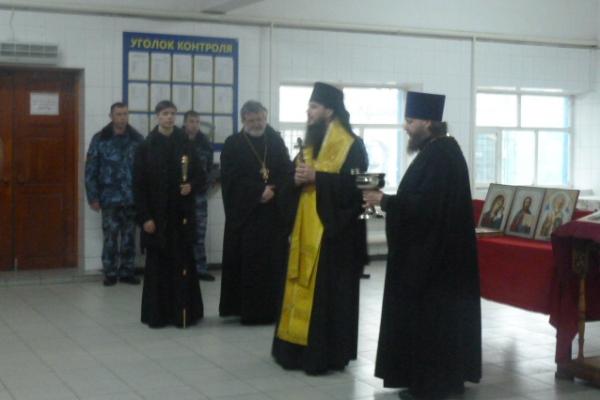 Епископ Тольяттинский и Жигулевский Нестор посетил ИК-29 и СИЗО-4 УФСИН России по Самарской области