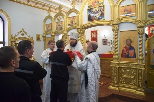 В ИК-6 УФСИН России по Самарской области открыли храм в честь иконы Божией Матери «Взыскание погибших»