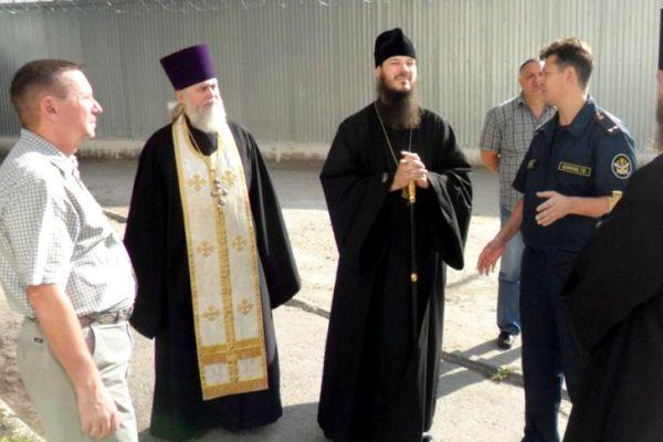 Епископ Тольяттинский и Жигулевский Нестор посетил колонию-поселение №1 УФСИН России по Самарской области
