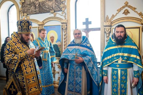 Епископ Кинельский и Безенчукский Софроний посетил ИК-6 УФСИН России по Самарской области