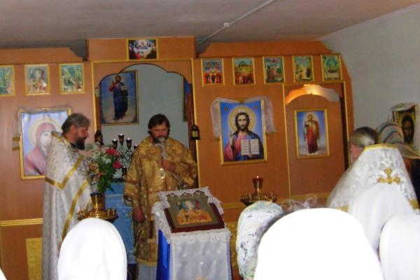 Епископ Сызранский и Жигулевский Фома провел божественную литургию в ИК-28 УФСИН России по Самарской области